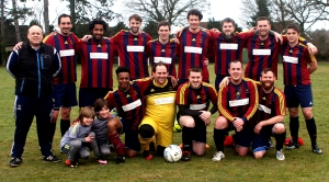 Chase Kings squad & mascots 2016